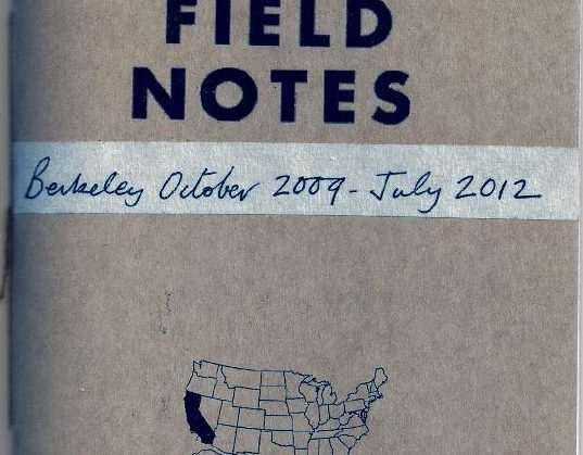 Field Notes book cover image